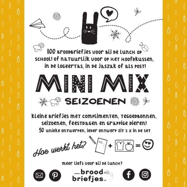 BroodBriefjes MiniMix Seizoenen