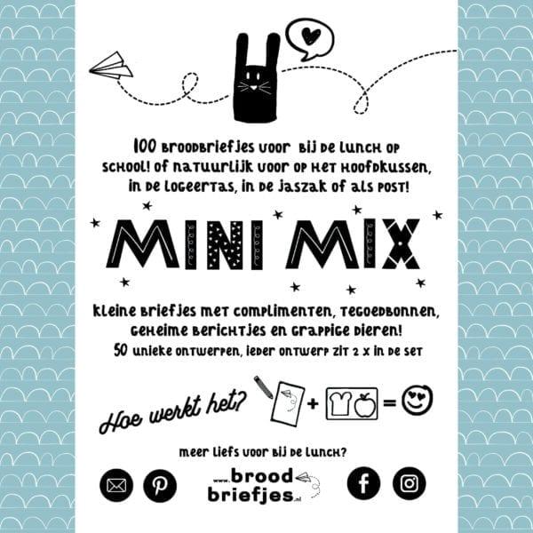 BroodBriefjes MiniMix