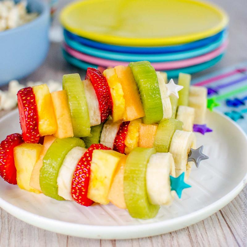 Stix by Lunch Punch – extra lange prikkers Rainbow