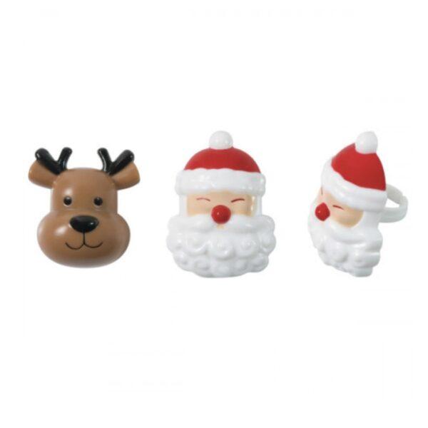 Bento ringen Kerstman & Rendier