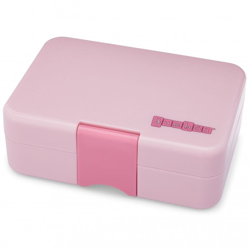 Yumbox MiniSnack 3 vaks – Coco Roze met Kittykat tray