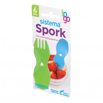 Sistema Spork To Go (set van 6)