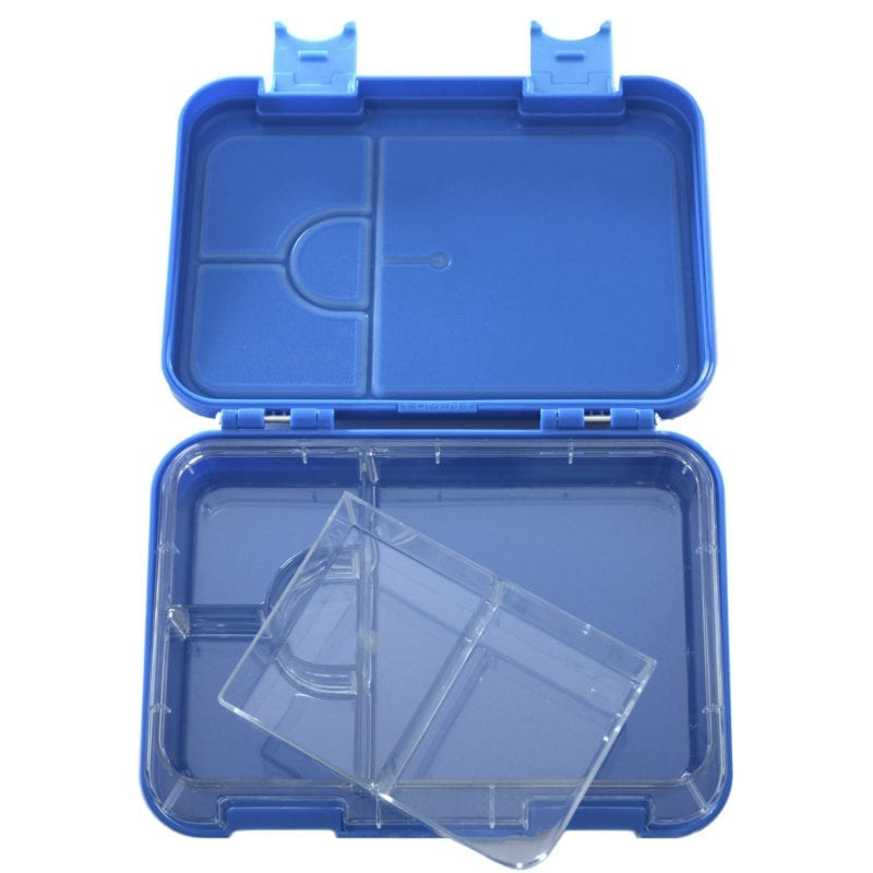HappyBento lunchbox 2-in-1 Navy Blue