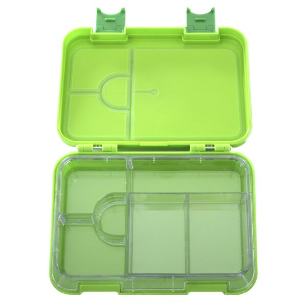 HappyBento lunchbox 2-in-1 Green
