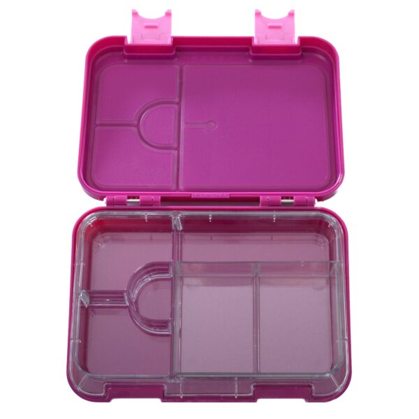 HappyBento lunchbox 2-in-1 Magenta Pink