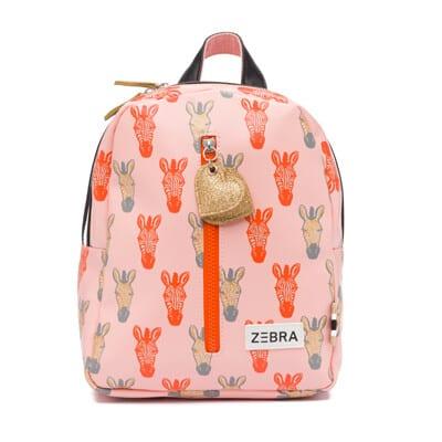 Zebra Rugzak (S) – Zebra peach-gold