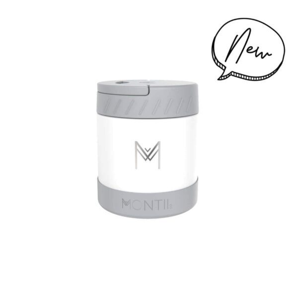 Montii Food Jar – White