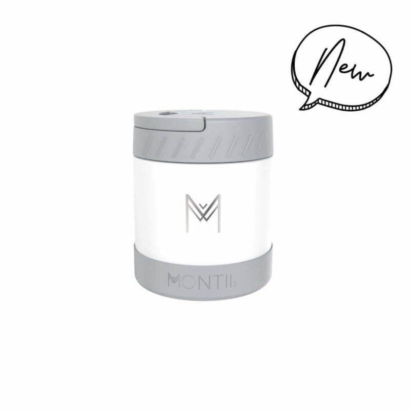Montii Food Jar – White
