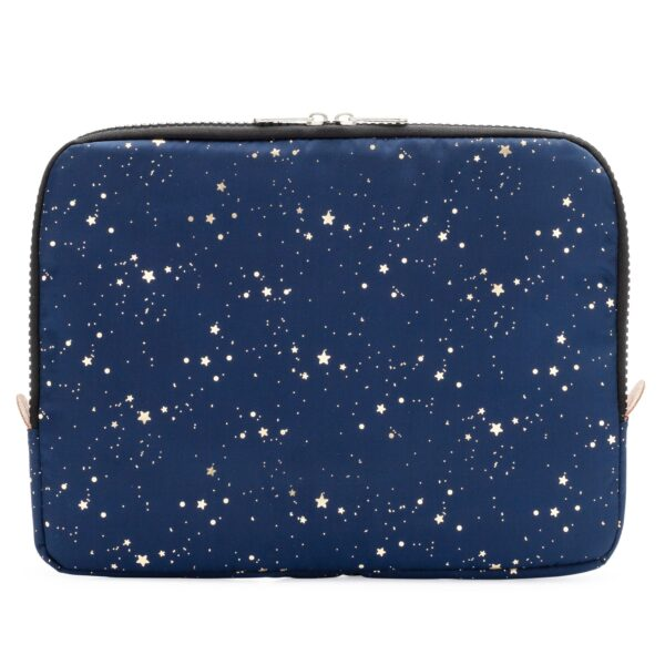 Yumbox Poche – Isolerende hoes marineblauw gouden sterren