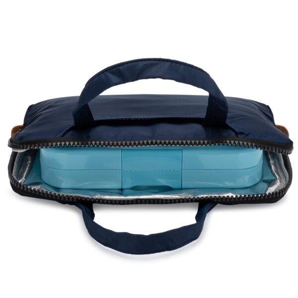 Yumbox Poche – Isolerende hoes met handgrepen marineblauw
