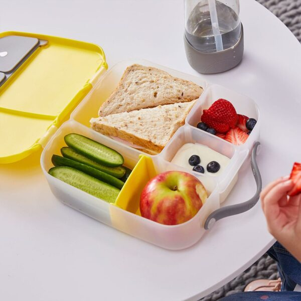 b.box Bento Lunchbox – Lemon sherbet