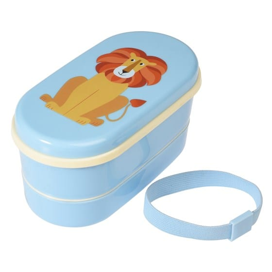 Rex London Bento box Charlie the Lion