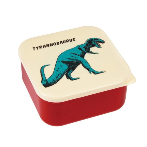 Rex London Snackdoosjes Dinosaur – set van 3