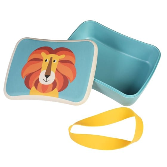 Rex London Bamboe Lunch box Charlie the Lion