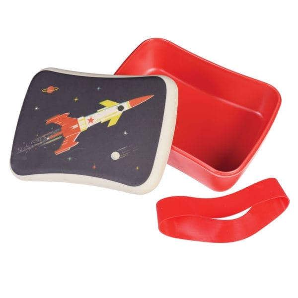 Rex London Bamboe Lunch box Space Age
