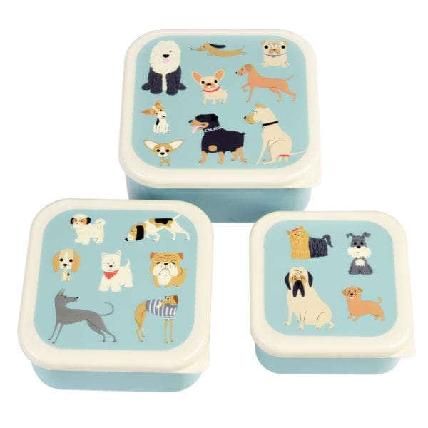 Rex London Snackdoosjes Best in Show – set van 3