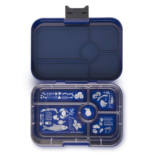 Yumbox Tapas XL 5 vaks – Portofino Blauw
