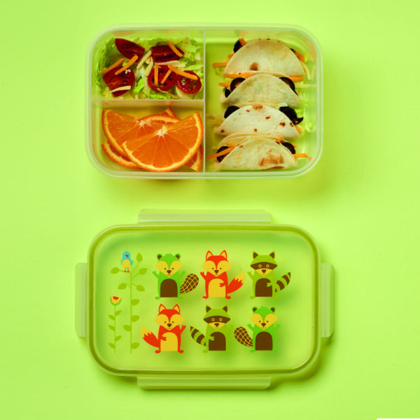 Sugarbooger bento box – What did the Fox Eat