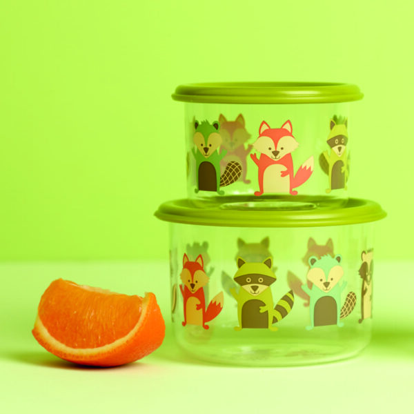 Sugarbooger snackdoosjes set van 2 – What did the Fox Eat