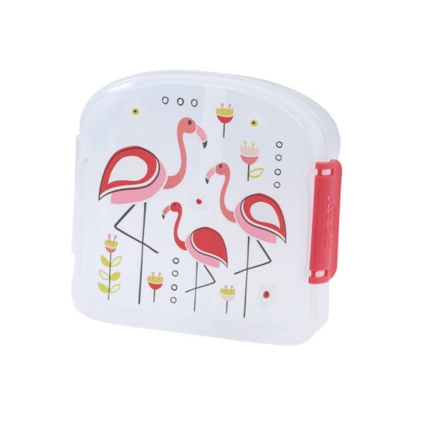 Sugarbooger sandwich box – Flamingo