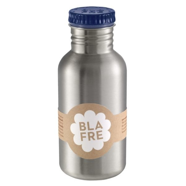 Blafre RVS drinkfles 500ml – navy