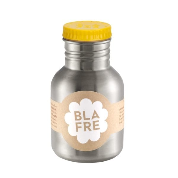 Blafre RVS drinkfles 300ml – yellow