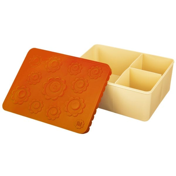 Blafre bentobox flower – light yellow orange