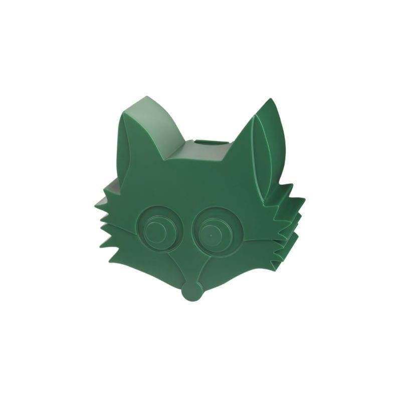 Blafre snackbox vos – dark green