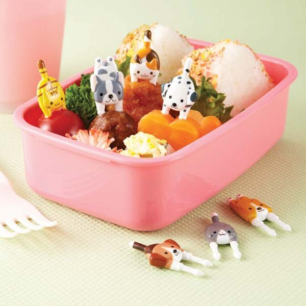 Bento toppers Cats & Dogs