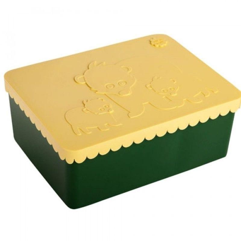 Blafre bentobox beer – groen geel