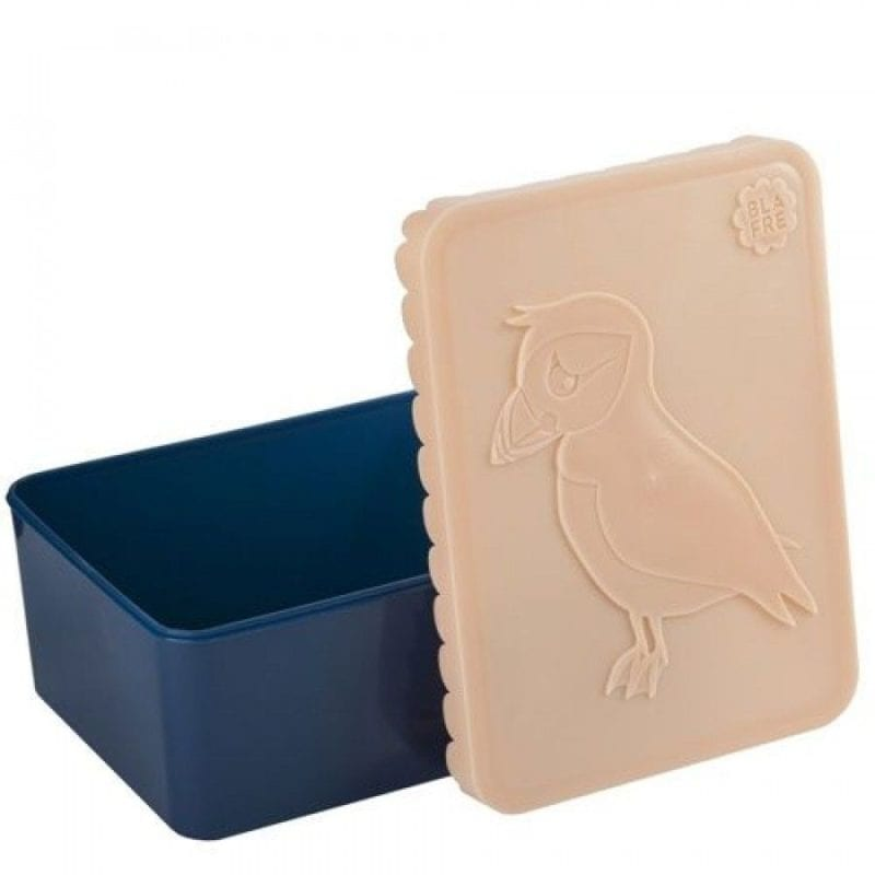 Blafre lunchbox puffin – peach