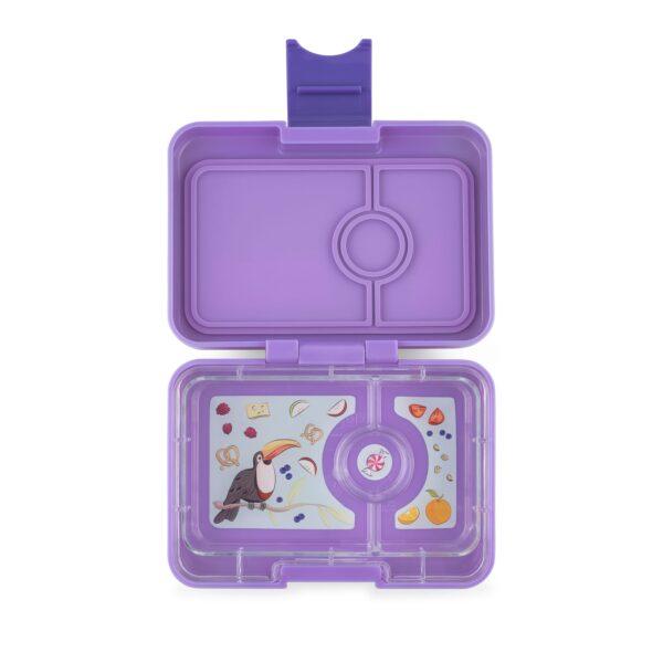 Yumbox MiniSnack 3 vaks – Dreamy Purple