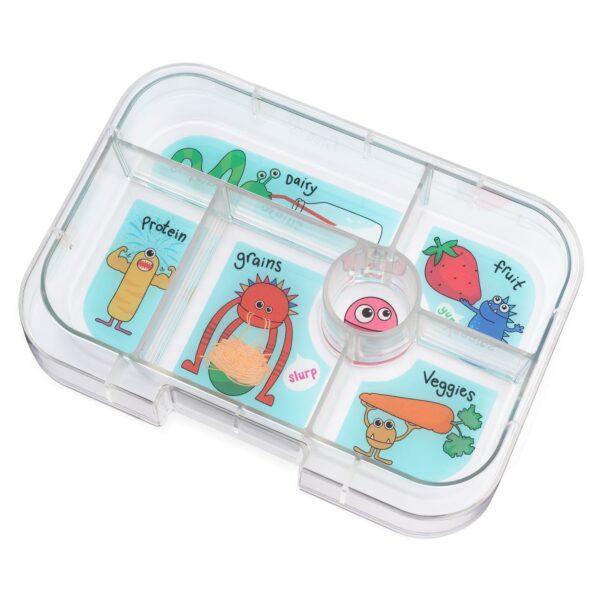 Yumbox Original 6 vaks tray – Funny Monsters