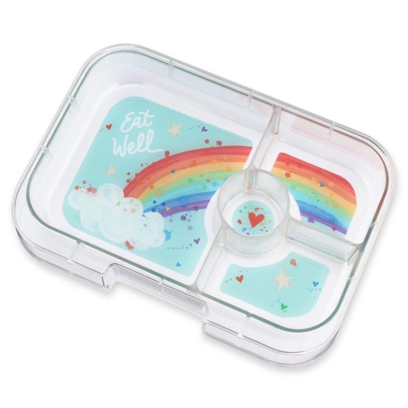 Yumbox Panino 4 vaks tray – Rainbow