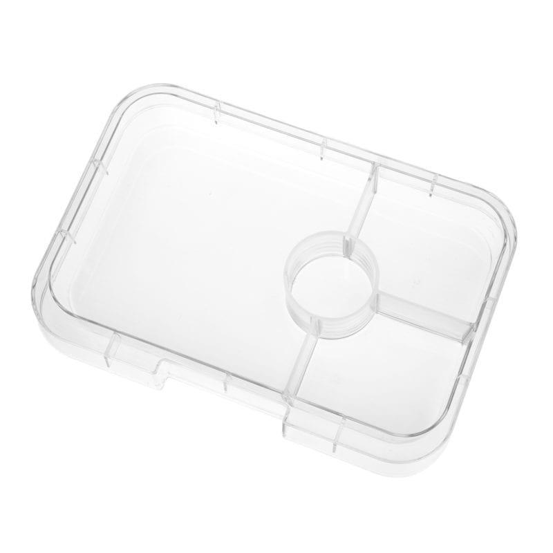 Yumbox Tapas 4 vaks tray – Transparant