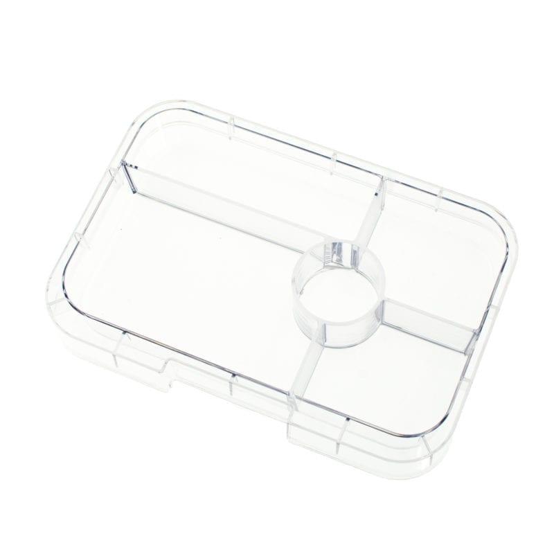 Yumbox Tapas 5 vaks tray – Transparant