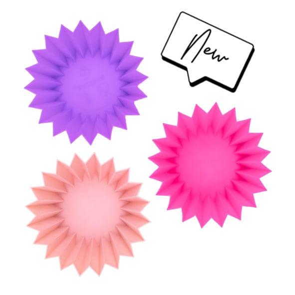 Lunch Punch siliconen vormpjes – roze