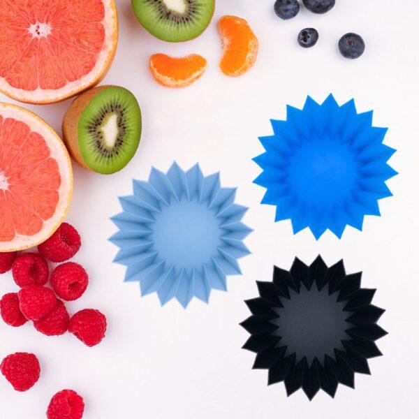 Lunch Punch siliconen vormpjes – blauw