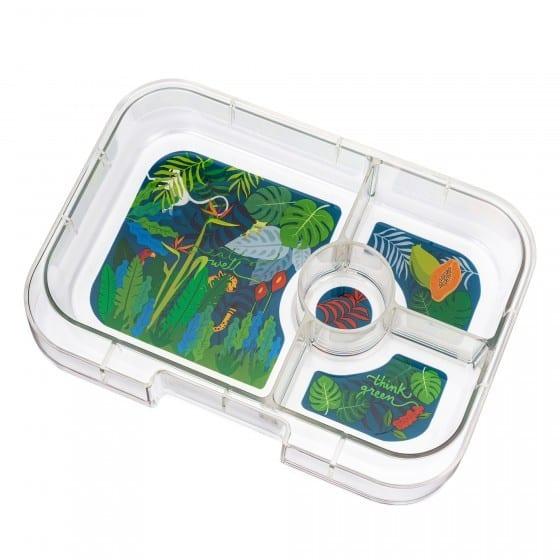 Yumbox Original 6 vaks tray – Jungle