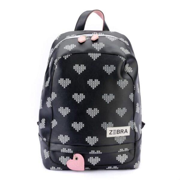 Zebra Rugzak (L) – Crossed Hearts