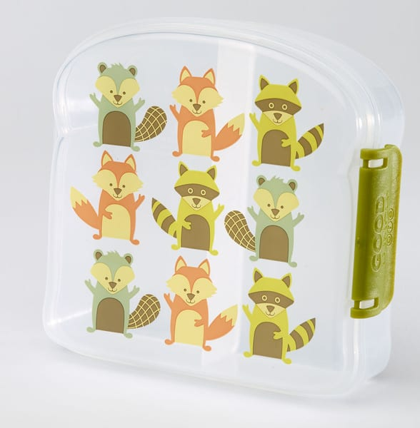 Sugarbooger sandwich box – What did the Fox Eat