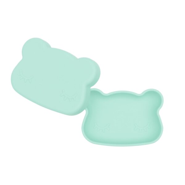 We Might Be Tiny Bear snackie – Mint green