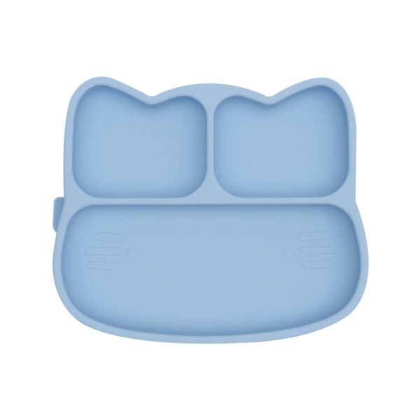 We Might Be Tiny Cat sticky plate – Powder blue