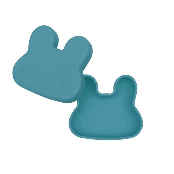 We Might Be Tiny Bunny snackie – Blue dusk