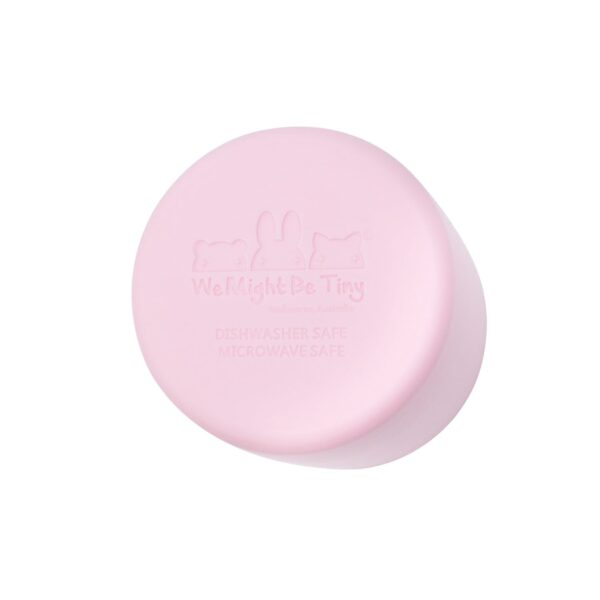 We Might Be Tiny Grip cup – Powder pink
