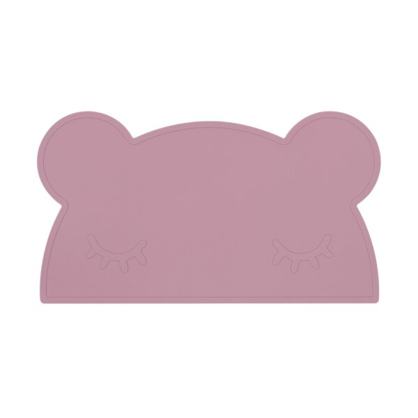 We Might Be Tiny Bear placie – Dusty rose