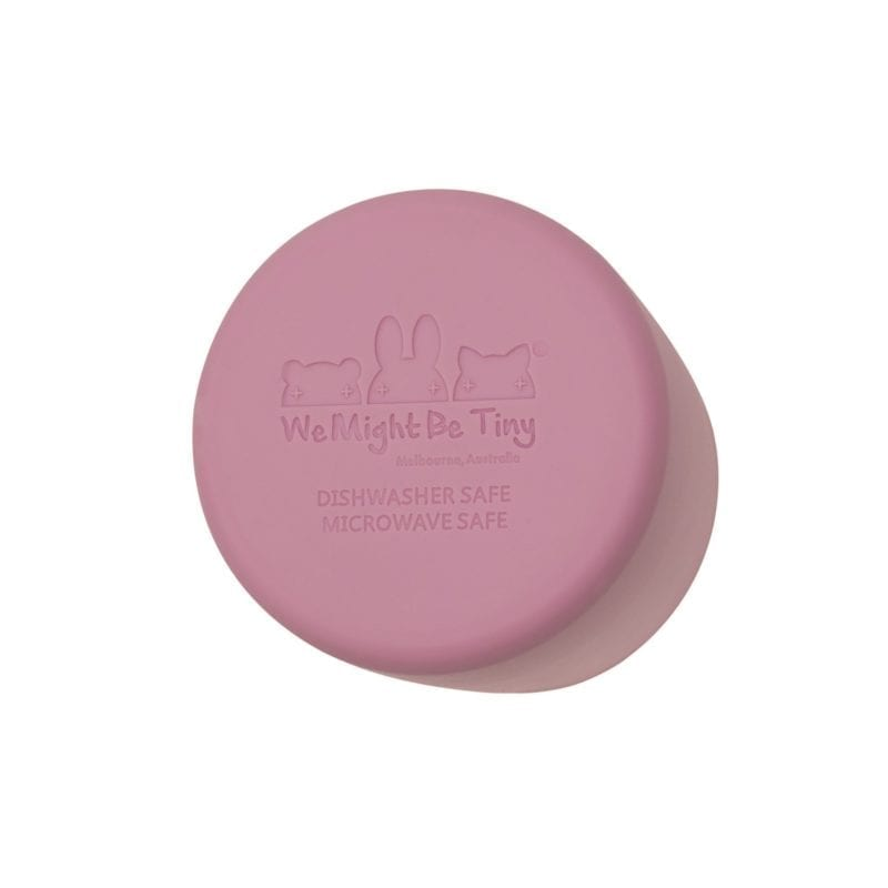 We Might Be Tiny Grip cup – Dusty rose