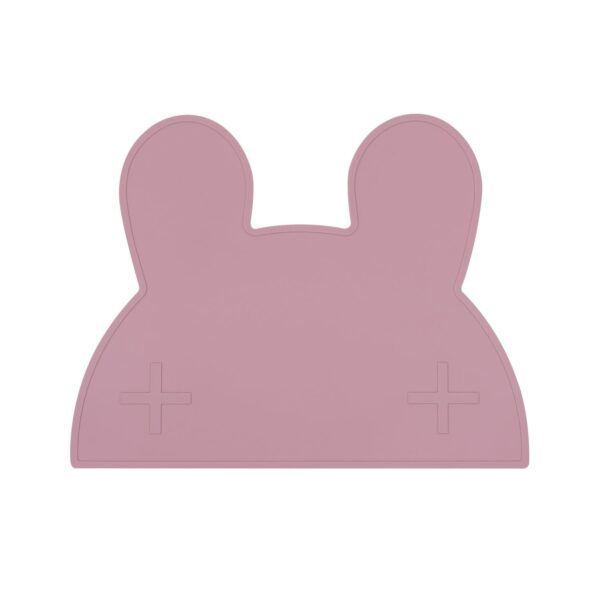 We Might Be Tiny Bunny placie – Dusty rose