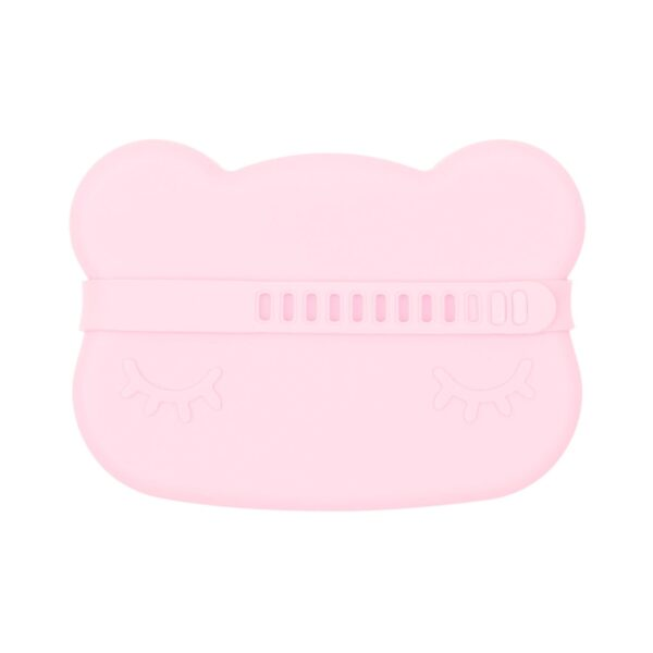 We Might Be Tiny Bear snackie – Powder pink