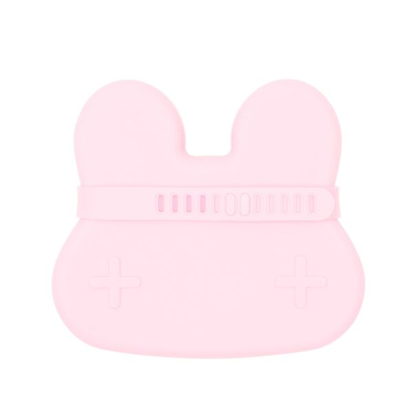 We Might Be Tiny Bunny snackie – Powder pink